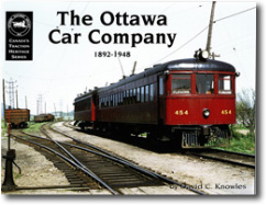 Picture of The Ottawa Car Company 1892-1948 Publication
