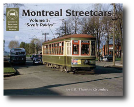 Picture of the Montreal Streetcars Volume 3: Scenic Routes Publication