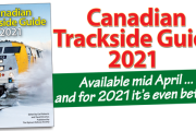 ACCEPTING ORDERS! Canadian Trackside Guide® 2021 - Shipping Mid April