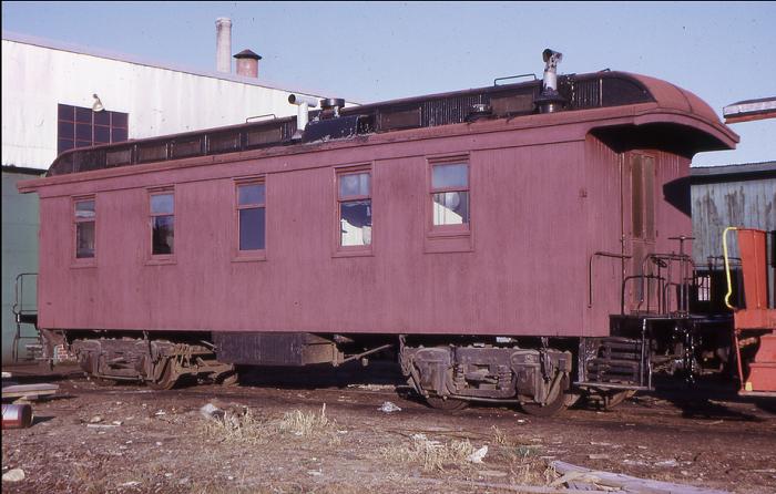 Car 27 before restoration.
