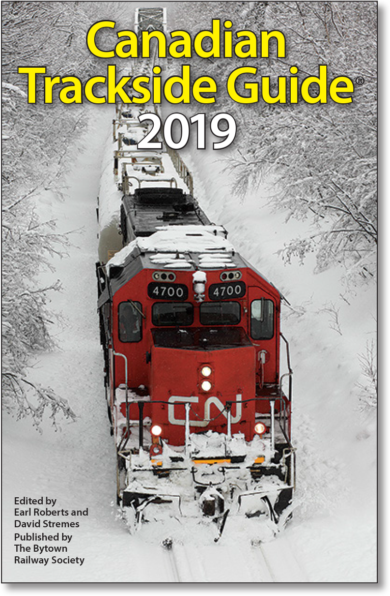 Picture of The Canadian Trackside Guide 2019 Publication
