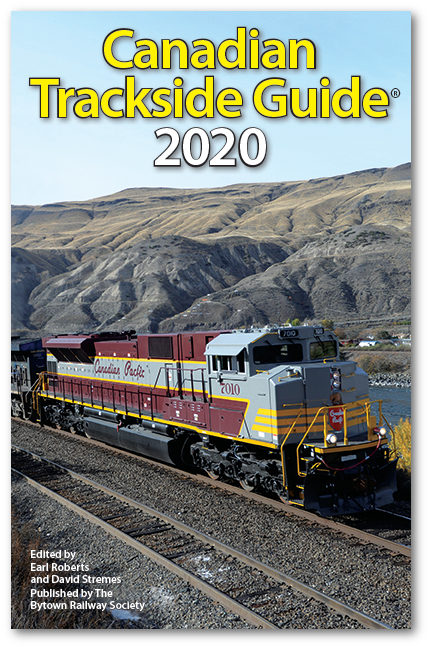 Picture of The Canadian Trackside Guide 2020 Publication