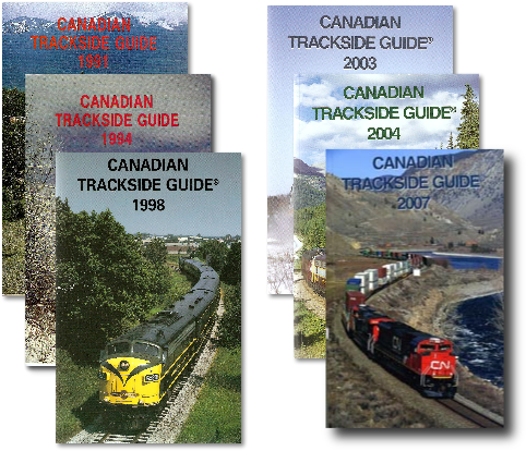 Pictures of The Canadian Trackside Guides